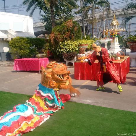 BigC Udon-Thani, le personnel apprivoise le dragon