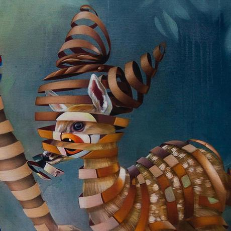 Trapped, une série d'illustrations réalistes piégées par les figures Disney