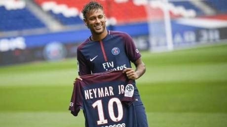 neymar arrivée