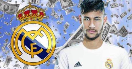 Neymar Real Madrid