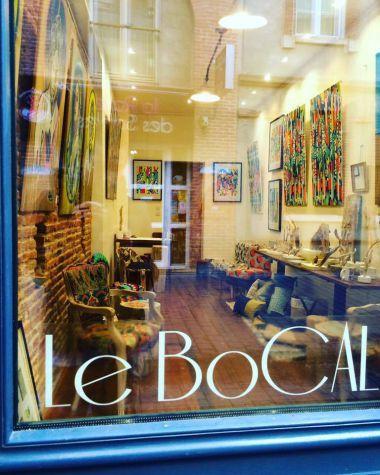 Elisabeth WADECKI, peintures, Galerie Le BoCAL Toulouse