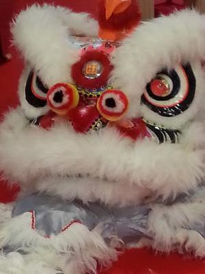 Danse du lion au Nouvel an chinois 2018