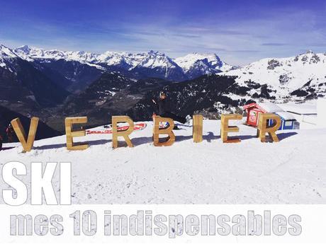 Mes 10 indispensables pour une semaine au ski