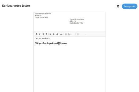 merci facteur courrier expatriés voyageurs interface