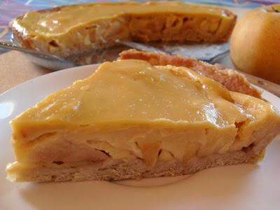 Tarte Flan aux pommes (Vegan)