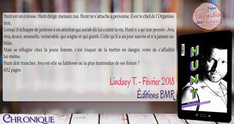 Hunt : dans l'univers de l'Organisation – Lindsey T.