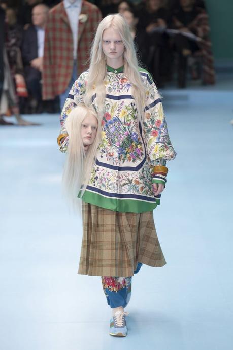 Gucci : la mode sous bistouri par Alessandro Michele