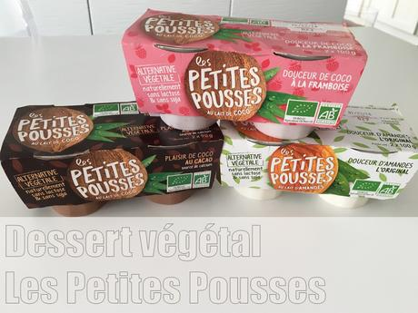 Desserts au lait végétalLes Petites Pousses