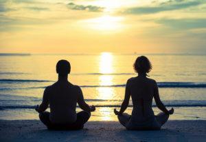 Hatha yoga méditation
