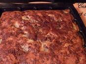 Gâteau moelleux poire/amande/chocolat