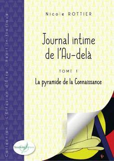 [Chronique] Journal intime de l'Au-delà, tome 1 : La pyramide de la Connaissance - Nicole Rottier