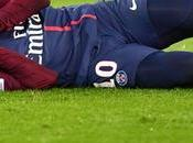 Neymar absent pour semaines