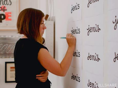 Perfectionner votre travail sur les logos avec Jessica Hische