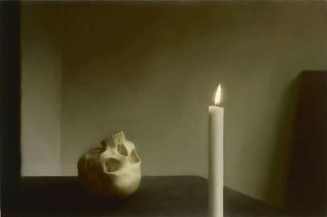 gerhard-richter,skull,paintin,photo-painting,vanityjpg