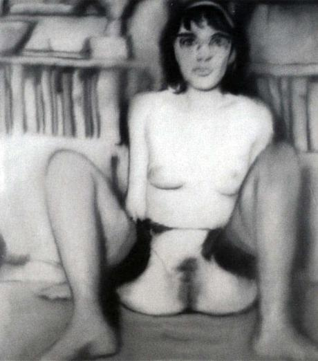 gerhard-richter,painting,photo-painting,nudes,student