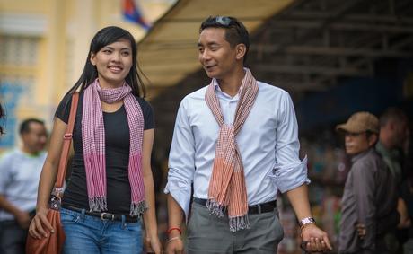 Le Krama, l'écharpe traditionnelle cambodgienne