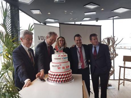 Volotea base cinq à Bordeaux