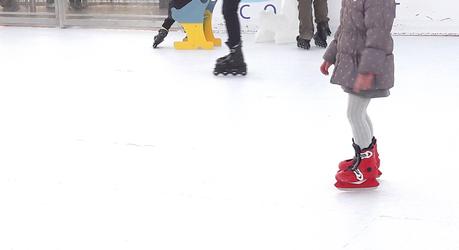 Une patinoire au sommet de Paris
