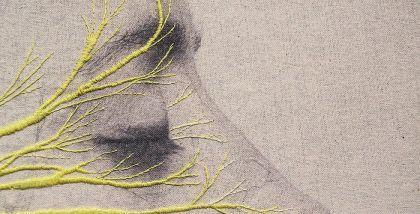 Autoportraits brodés de Juana Gómez
