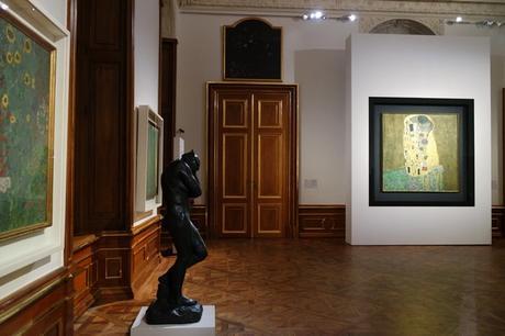 Vienne Wien art nouveau sécession belvédère château gustav klimt le baiser