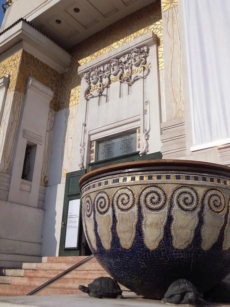 Vienne Wien art nouveau sécession palais Gustav Klimt