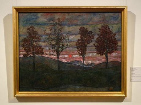 Vienne Wien art nouveau sécession belvédère château egon schiele quatre arbres