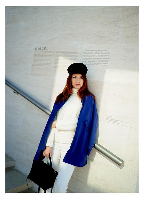 Blue and white / must have Tissaia