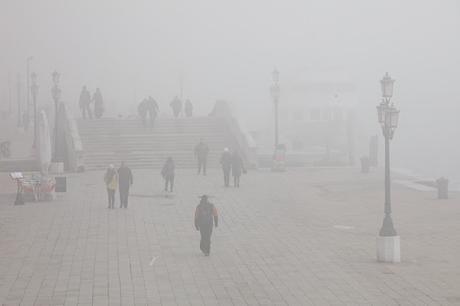 La brume à Venise