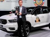 Volvo XC40 élue «Voiture l'année» 2018