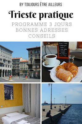 Infos pratiques pour organiser son séjour à Trieste : programme trois jours, bonnes adresses, conseils, carte interactive... #Italie #Italy #citytrip #cityguide #tips