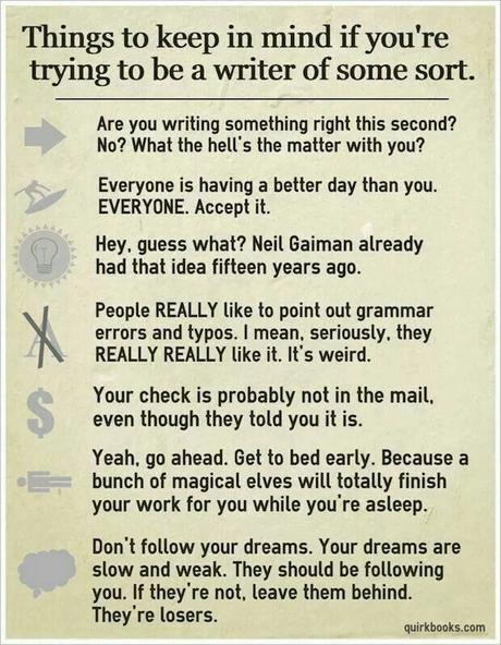 A garder en tête si vous voulez devenir auteur(e)