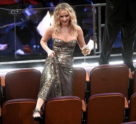 Jennifer Lawrence et sa tenue virale aux Oscars 2018