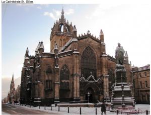 La Cathédrale St. Gilles - Edimbourg