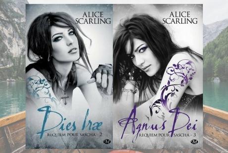⚓ J'ai jeté l'encre avec « Requiem pour Sascha, tome 2 : Dies Irae ; tome 3 : Agnus Dei  » de Alice Scarling