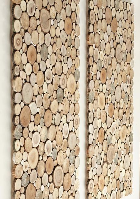 Couvrir son mur de bois id es malignes - Muret de cuisine ...