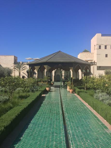 Le jardin secret Marrakech medina via Nat et Nature
