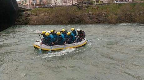 Rafting sur le Verdon, descente du Verdon Avril 2017