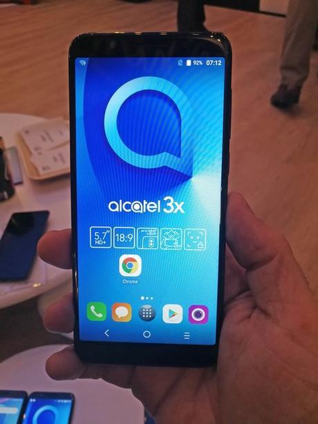 MWC 2018 : Alcatel propose une très large gamme de smartphones 18:9 sur le MWC