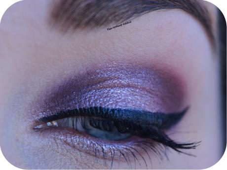 MAUVE MAKEUP with Huda Beauty Palette