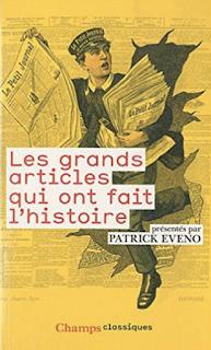 L'histoire et le journalisme, en quelques articles (1789 - 2001)
