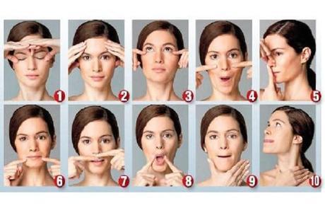 Gestes simples de gymnastique faciale pour vieillir moins vite