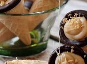 ~Mini-cornets beurre d'érable chocolat~