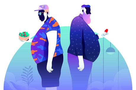 Vibrant illustrations by Leo Natsume