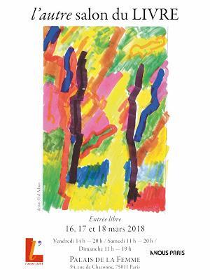 Deux salons du livre sur Paris du 16 au 19 mars 2018