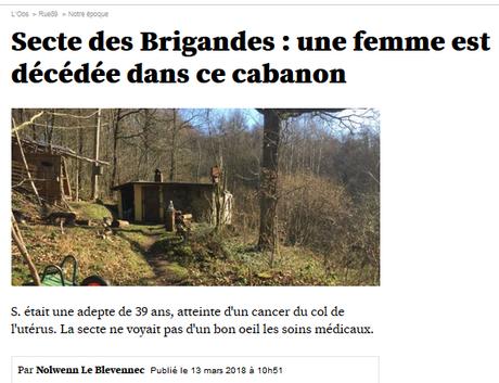 Quand mettra-t-on enfin #LesBrigandes (et leur gourou) hors d'état de nuire ?