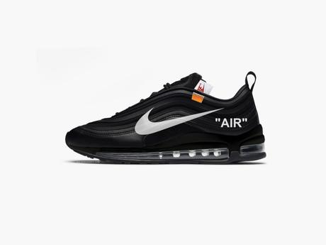 off white x nike air max 97 menta black white