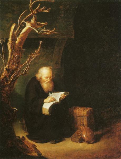 Dominicus van Tol Ermite ecrivant