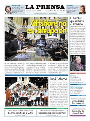 Le gouvernement argentin ne voit rien à redire aux comptes offshore [Actu]