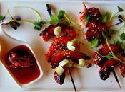 Crevettes végétales parfums asiatiques