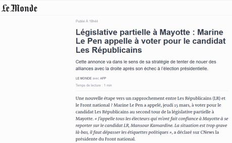 #FNLR : le doute n'est plus permis #Mayotte #LR #FN